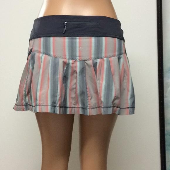 lululemon run skirt size 8
